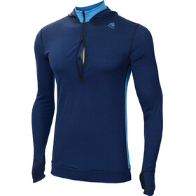 Aclima LightWool Hoodie Men Insignia Blue/Blithe